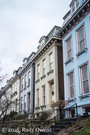 Second Empire Style Homes, Lafayette Square