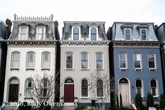 Second Empire Style Homes, Lafayette Square