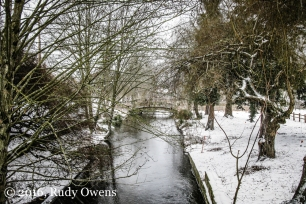 Westsmoreland Park in Snow Storm Picture