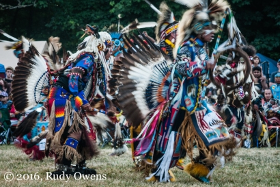 Serious Eagle Feathers, Seattle Seafair Pow-Wow