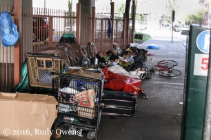 Homeless in Portland Photo