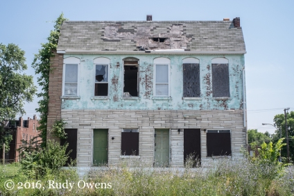 Abandoned Home, North St. Louis