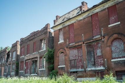 Row Homes, Abandoned