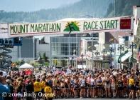 Start of 2009 Womens Mt. Marathon Race