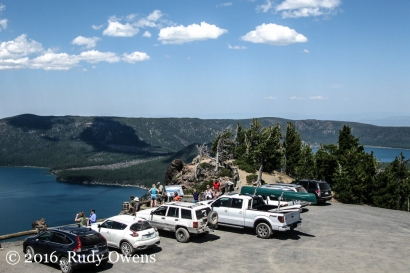 Paved Paradise, Paulina Peak Parking Lot
