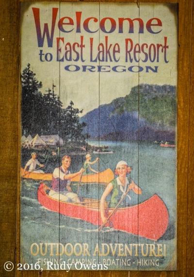 Welcome to East Lake Resort Poster