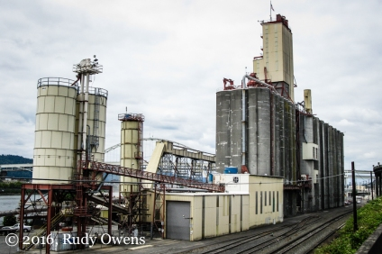 Temco Grain Elevator, Portland