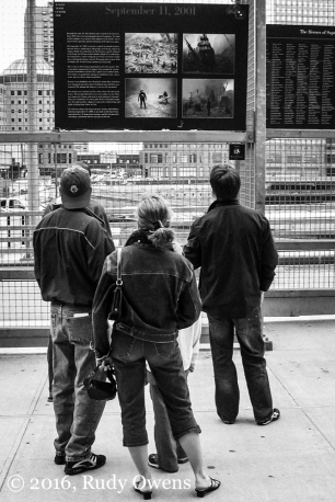 Taken in April 2005, Ground Zero, New York City