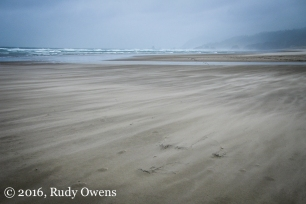 The wind was howling the first weekend of fall 2016 at Cannon Beach.