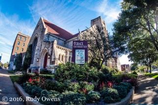 Grace United Methodist Church, in the Debaliviere neighborhood