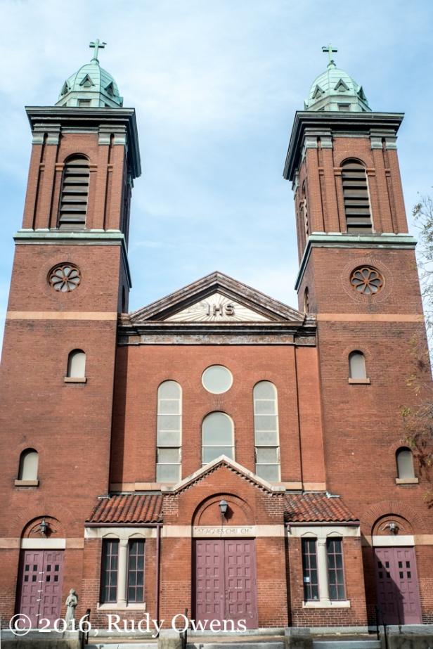 St. Agnes Catholic Church, now closed