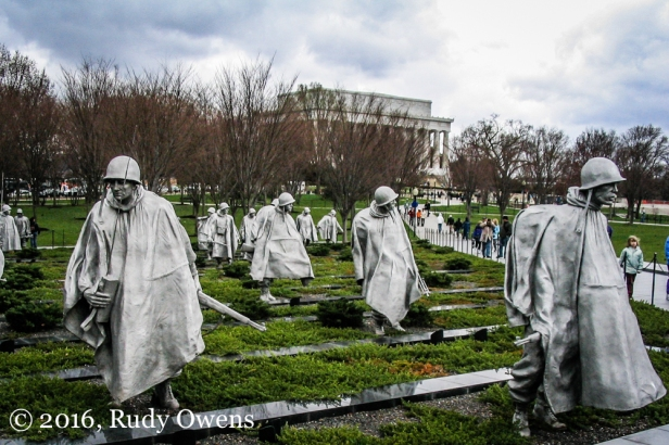 Korean War Memorial in Washington, D.C.