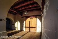 Entrance to San Juan Bautista Mission