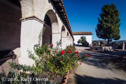 San Miguel Mission Courtyard