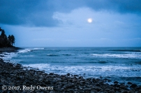 Moonrise on Seaside Cove