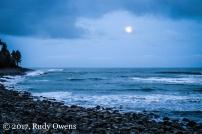 Moonrise on Seaside Cove