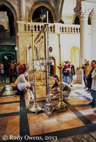 The Church of the Holy Sepulchre, taken in 2004.