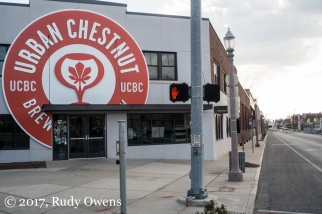 The Urban Chestnut Brewing Company is an anchor business on Manchester Avenue.