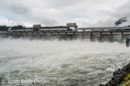 Bonneville Dam spillways
