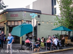 The A Cena Restaurant now has a new development in its backyard, in Sellwood.