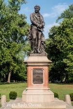 Statue, Alexander von Humboldt, Tower Grove Park