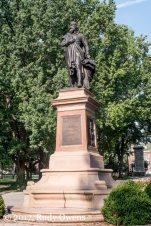 Statue, Christopher Columbus, Tower Grove Park