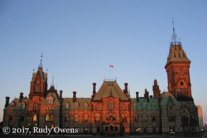 Parliament Hill, East Block, Sunrise