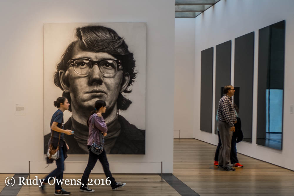 Keith By Artist Chuck Close At The St Louis Art