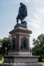 Statue, William Shakespeare, Tower Grove Park