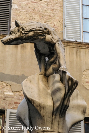 Capitoline Wolf Statue Sienna