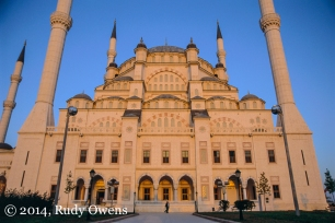 The Sanbanci Merkez Camii (mosque) in Adana, Turkey, was Asia's second largest when this was taken in 2001.