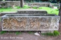 Ostia Antica tomb