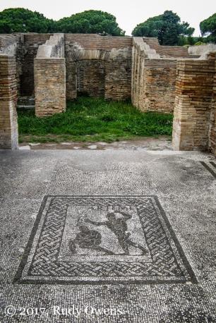 Ostiia Antica mosaics