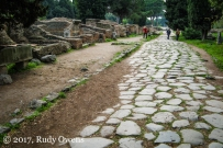 Via Ostiensis at Ostia Antica.