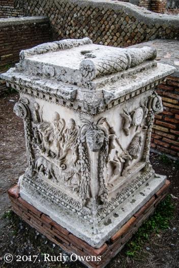 Sculpture Ostia Antica