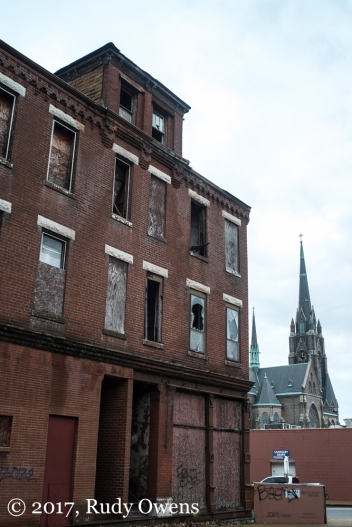 SIgns of decay in south St. Louis