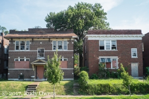Apartments in disrepair in south central St. Louis
