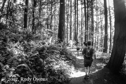 Trail Runners, Forest Park Portland (taken with a GoPro)