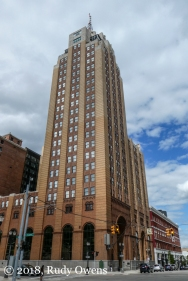The Boji Tower in Lansing