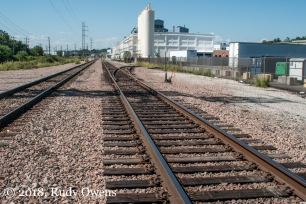 Rail corridor, South St. Louis