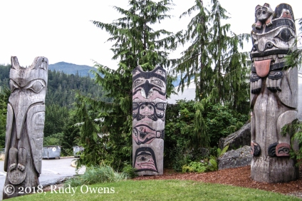 Ketchikan Totems on Public Display