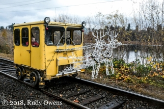 Santas Little Helper Rail Car (12-2018)