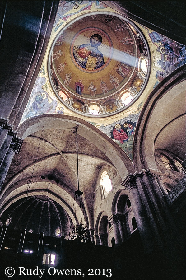 Church of the Holy Sepulchre dome