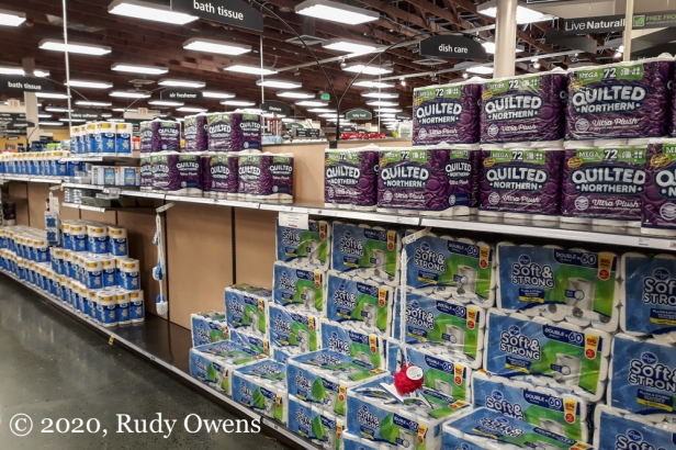 TP replenished at Fred Meyer (4-4-2020)