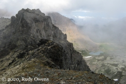 Chugach State Park in the Mist