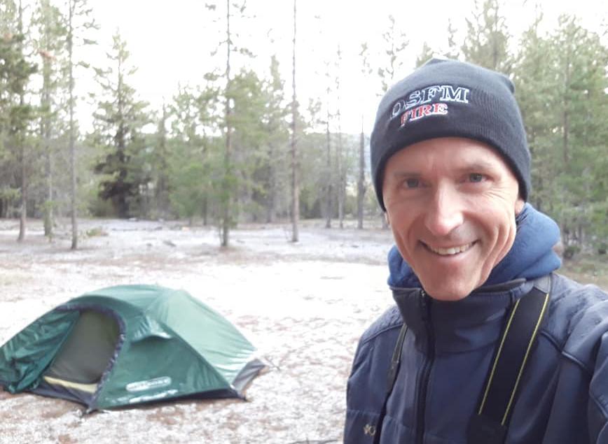 Rudy at Paulina Lake